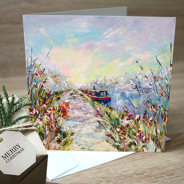 Christmas Cards, Pack of 5 - Winter's Dawn