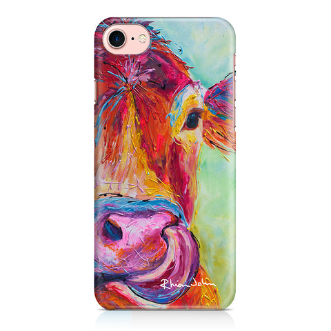 Phone Case of Jersey Cow (Hard Case)