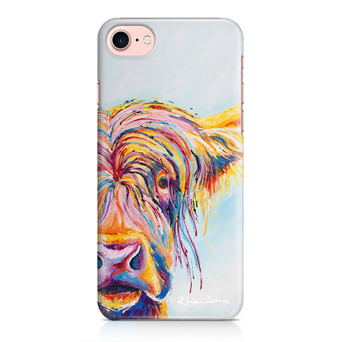 Phone Case of Chater Highland Cow (Hard Case)