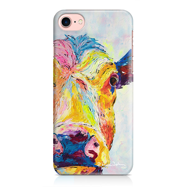 Phone Case of Cow Clover (Hard Case)