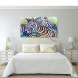 Canvas Print of 'Zebra'
