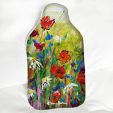 Hot Water Bottle - Poppies and Daisies