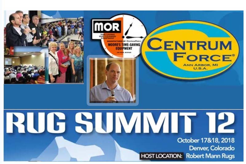 Press Release #6: Learn All About Enzyme-Based Cleaning Products at Rug Summit 12