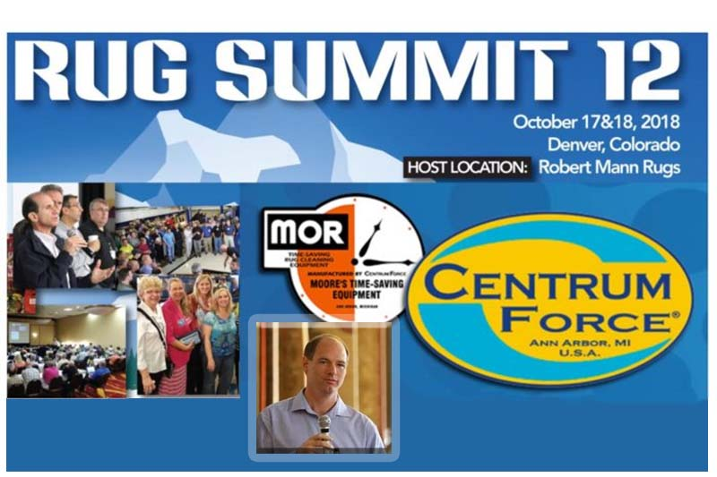 Press Release #5: Rug Summit 12 Topic Update Rug Repair Services