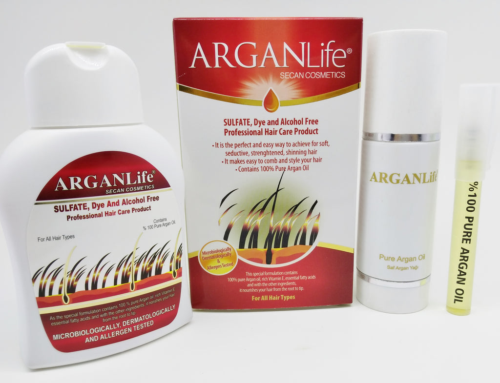 ARGANLife Hair Loss Shampoo and ARGANLife Oil For Hair Care