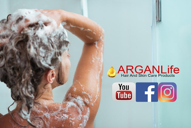 ARGANLIFE SHAMPOO IS THE BEST FOR THINNING HAIR