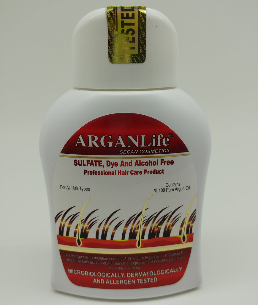 ARGANLIFE SHAMPOO SPEEDS UP HAIR REGROWTH