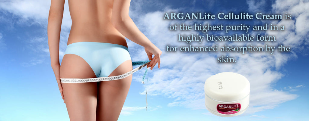 ARGANLife Anti-cellulite cream with Argan oil