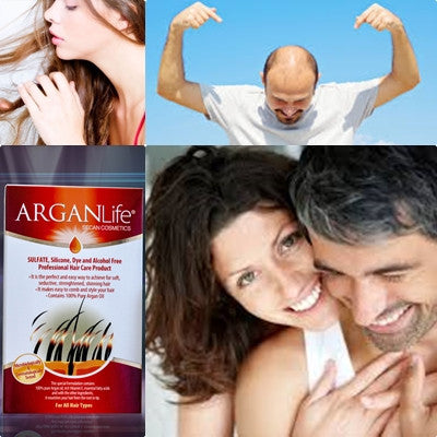 argan life anti hair loss shampoo