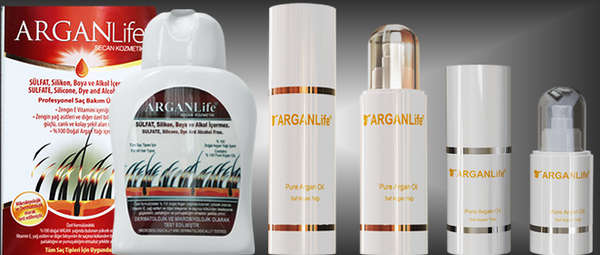 ARGANLife Natural and Safe Hair Care Products Instead of Hair Transplant im Dubai