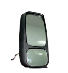 Twin Mirror For Volvo FH/FM I Right Hand Drive, 24 Volts, Electrical (Without Glass)