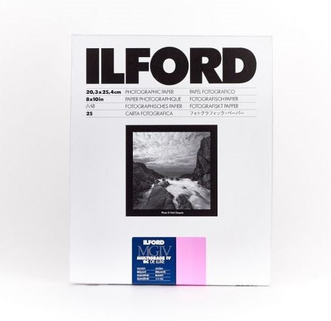 ILFORD Multigrade IV RC Deluxe 光面相紙