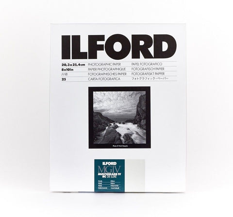 ILFORD Multigrade IV RC Deluxe 珍珠面相紙