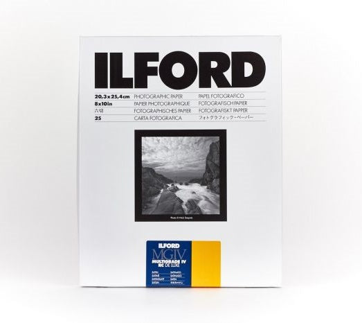 ILFORD Multigrade VI RC Deluxe 啞光面相紙