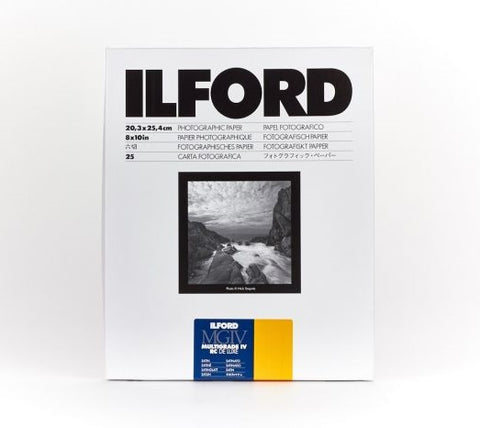 ILFORD Multigrade IV RC Deluxe 啞光面相紙