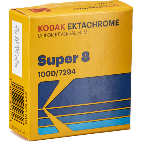 KODAK Ektachrome 100D 彩色正片 (Super 8)