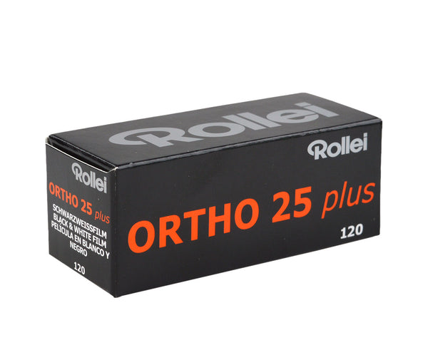 Rollei Ortho 25 120 黑白負片