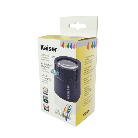 Kaiser All-Purpose 放大鏡 (倍率︰4.5x)