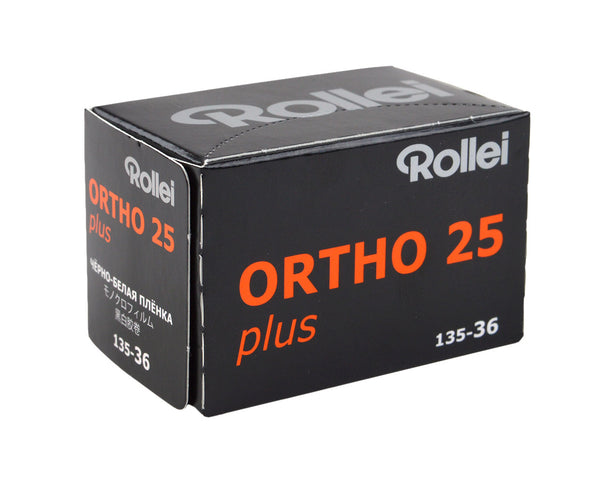 Rollei Ortho 25 135-36 黑白負片