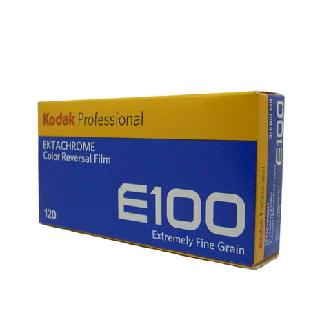 Kodak Professional Ektachrome E100 彩色正片 120 (5 筒裝)