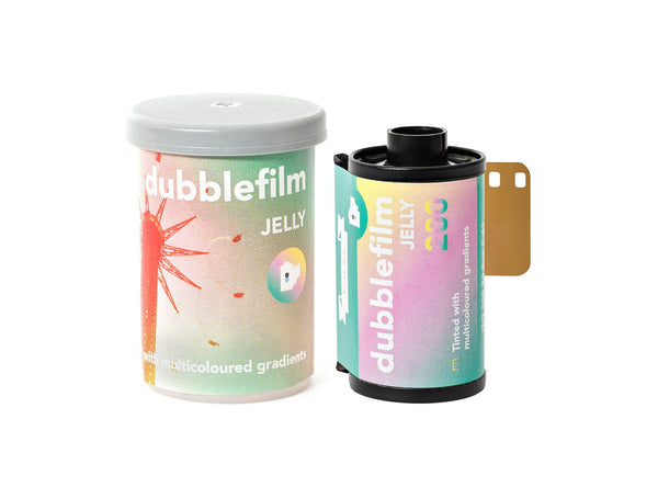 Dubble Film Jelly 彩色負片 135-36