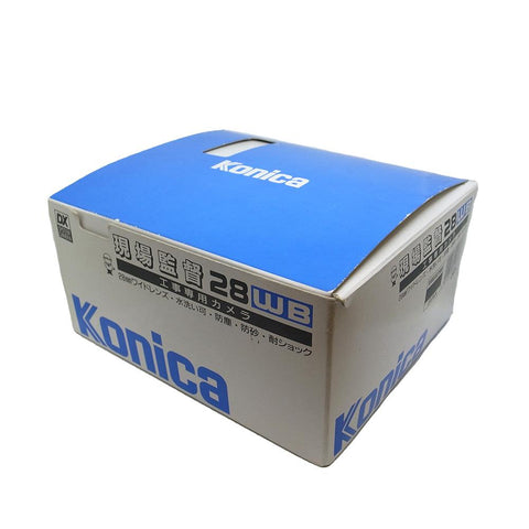 Konica 現場監督 28WB 28mm F/3.5 Lens Heavy Duty Film Camera (全新)