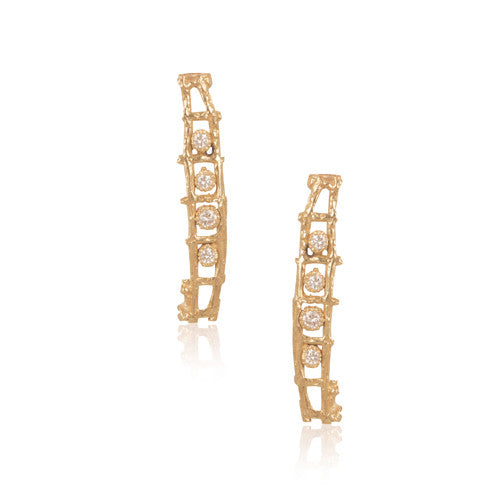 Trellis Post Earrings