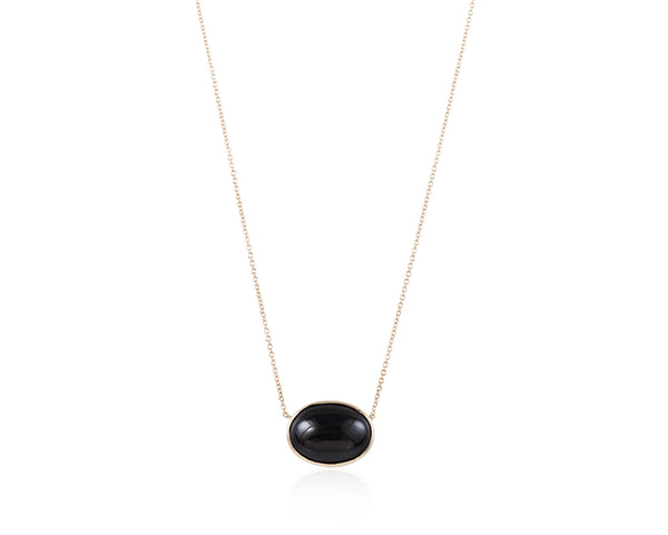 Black Star Diopside Necklace