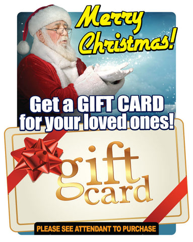 Santa Gift Card Holiday Antenna