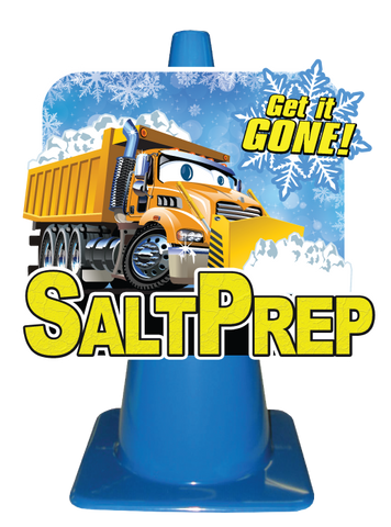 Salt Prep Pylon Display