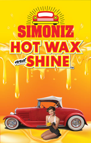 "Simoniz Hot Wax and Shine ""Vintage 2"" Windmaster"
