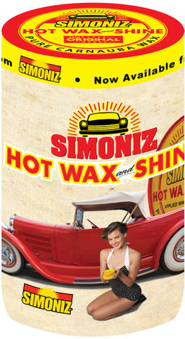 Simoniz (Vintage) Drum Cover or Wrap