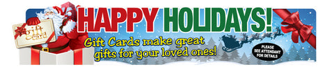 Happy Holiday Gate Sign