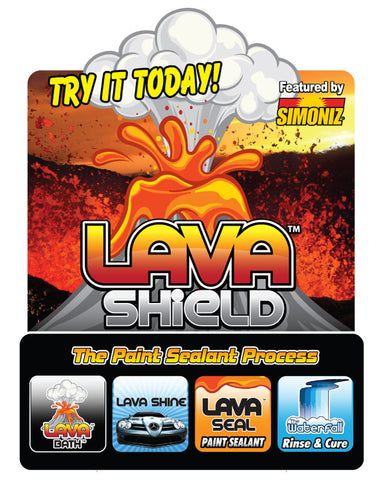 Simoniz Lava Shield Antenna
