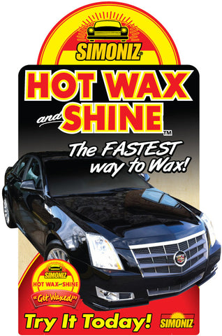 "Simoniz Hot Wax and Shine ""Cadillac"" Antenna"