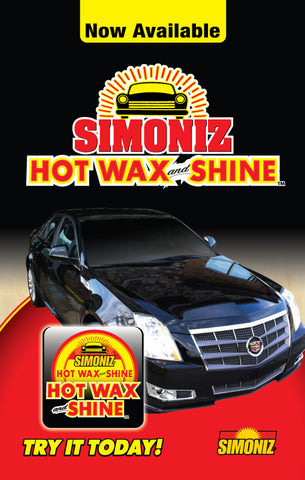 "Simoniz Hot Wax and Shine ""Cadillac"" Windmaster"