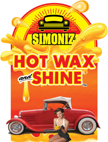 "Simoniz Hot Wax and Shine ""Vintage #2"" Antenna"