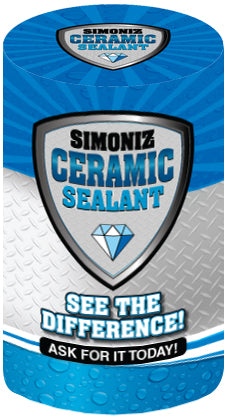 Ceramic Sealant Drum Cover or Wrap