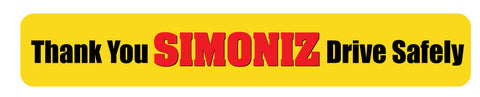 Simoniz Gate Sign