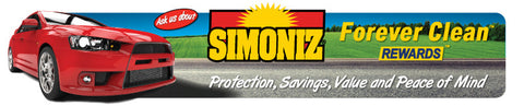 Simoniz (Forever Clean) Gate Sign