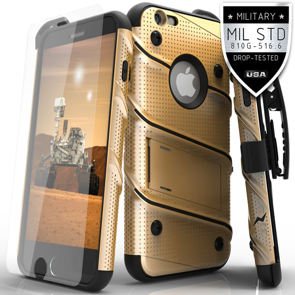 Ultra Strong Armor Military Grade Case Cover for iPhone 6 Plus / 6s Plus