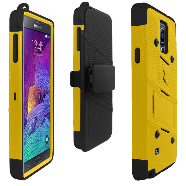 Ultra Strong Armor Military Grade Case Cover for Samsung Galaxy Note 4