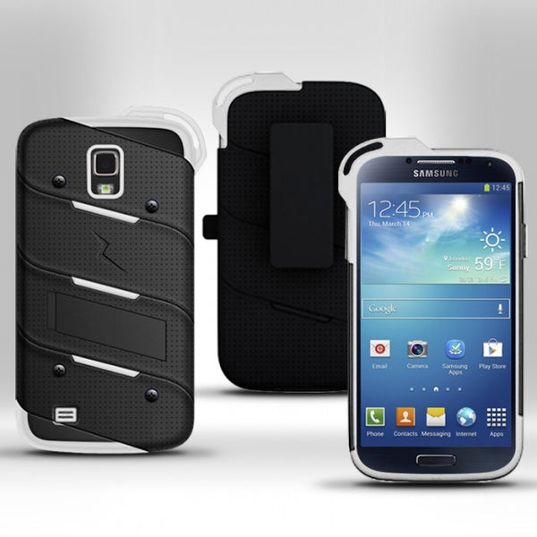 Ultra Strong Armor Military Grade Case Cover for Samsung Galaxy S4
