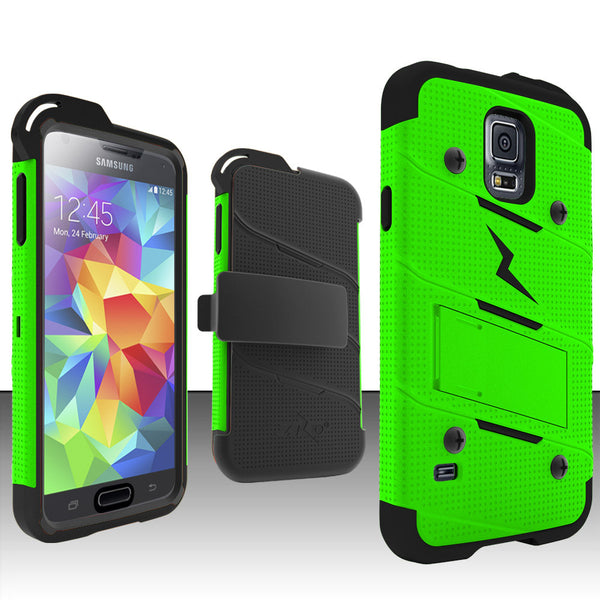 Ultra Strong Armor Military Grade Case Cover for Samsung Galaxy S5