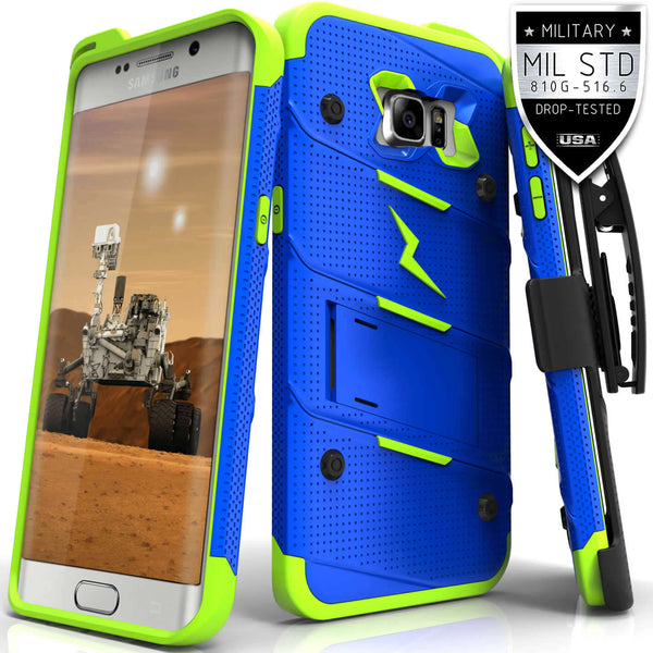 Ultra Strong Armor Military Grade Case Cover for Samsung Galaxy S6 Edge Plus