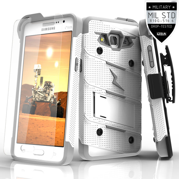 Ultra Strong Armor Military Grade Case Cover for Samsung Galaxy Grand Prime