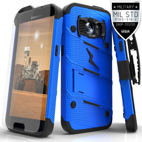 Ultra Strong Armor Military Grade Case Cover for Samsung Galaxy S7