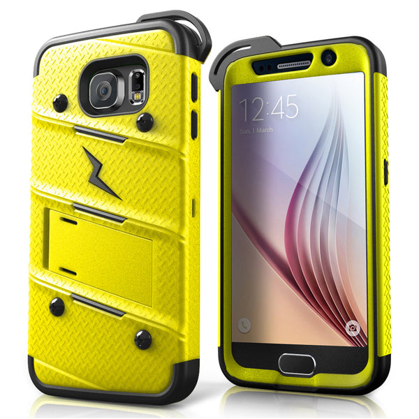 Ultra Strong Armor Military Grade Case Cover for Samsung Galaxy S6