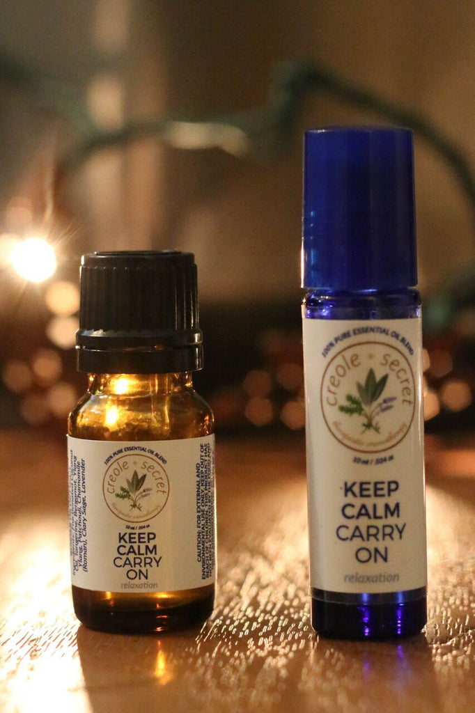 Keep Calm Carry On Aromatic