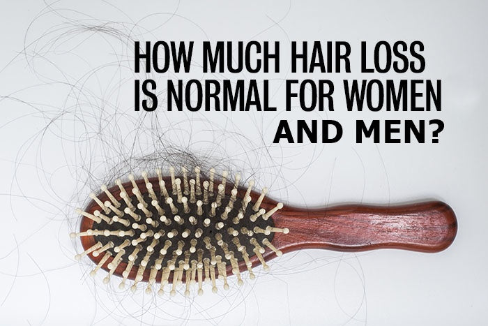 HOW MUCH HAIR LOSS IS NORMAL EVERY DAY?